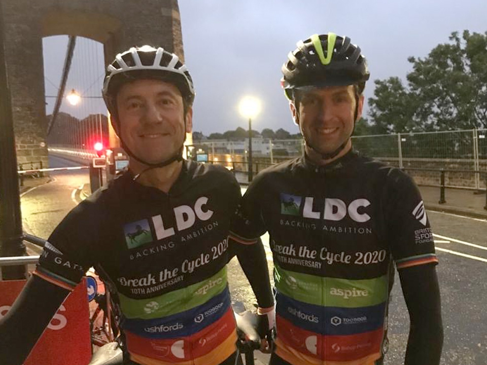 Cycling 200 miles for local Bristol charities